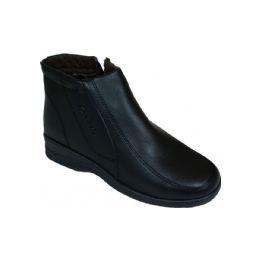 20 Units of Ladies Fashion Winter Ankle Boot (black) - Men's Shoes