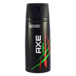 24 Units of Axe Body Spray 150ml Africa - Shower Accessories