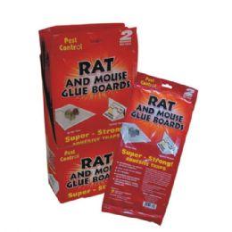 48 Units of Pest Control Rat & Mouse Glue Board 2pk Display - Pest Control