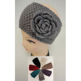 48 Units of Hand Knitted Ear Band [tight KniT-Flower]loop - Ear Warmers