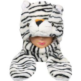 24 Units of Winter Animal Hat Tiger - Winter Animal Hats