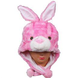 36 Units of Winter Animal Hat Bunny - Winter Animal Hats
