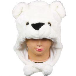 12 Units of Kids Winter Animal Hat Bear - Winter Animal Hats