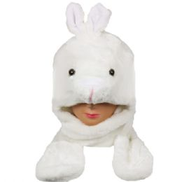 24 Units of Winter Animal Hat Bunny - Winter Animal Hats