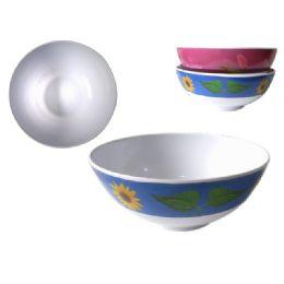 """96 Units of Mela Bowl 7"""" Diameter X 3.1"""" 2asst - Craft Beads"""