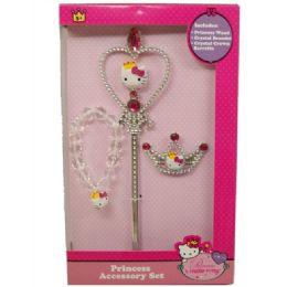 24 Wholesale Hello Kitty Wand Set In Gift Box