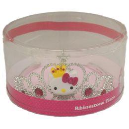 24 Wholesale Hello Kitty Charm Tiara