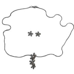 240 Units of Necklace And Earring Set In 3 Assortments - One With Assorted Colors And 2 Silver Sets - Necklace Sets