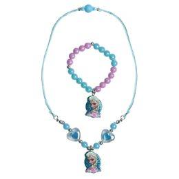 24 Units of Wholesale Frozen Necklace And Bracelet Set - Necklace Sets