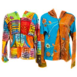 50 Units of Made In Nepal 100% Cotton Jackets - Women's Winter Jackets