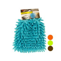 60 Units of Microfiber Auto Wash Mitt - Auto Cleaning Supplies