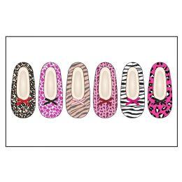 72 Units of Ladies Slipper Socks With FuR- Animal Pack S-M, M-L - Womens Slipper Sock
