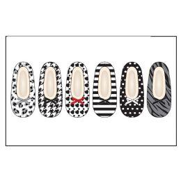 72 Units of Ladies Slipper Socks Wtih FuR-Blk/wht Pack Sizes S-M, M-L - Womens Slipper Sock