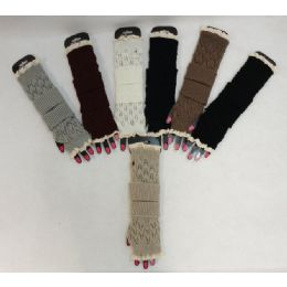 48 Units of Knitted Hand Warmers [loose Knit] - Arm & Leg Warmers