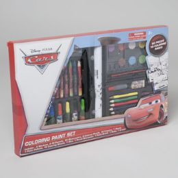 12 Units of Cars 60 Piece Art Deluxe Set - Art Paints