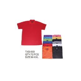36 of Men's Solid Polo Shirt