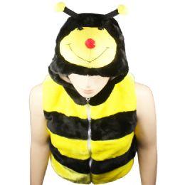 12 Units of Animal Hat Ab 310 ( Kids Jacket ) Bumble Bee - Kids Vest