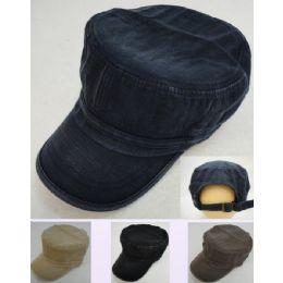 12 Wholesale Cadet Hat [denim]