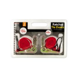 12 Units of Ratchet Tie Down Set - Ratchets