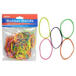 144 Bulk 100 Grams Assorted Rubber Bands