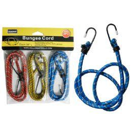 96 Bulk 3 Piece Bungee Cords