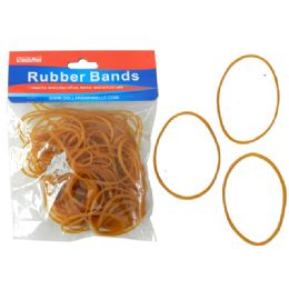 144 Bulk Yellow Color Rubber Band