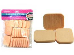 96 Bulk 25 Piece Cosmetic Makeup Applicator Sponge Set