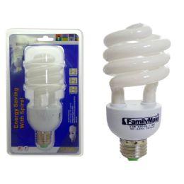 72 of 23 Watt Energsy Saving Spiral Lightbulb