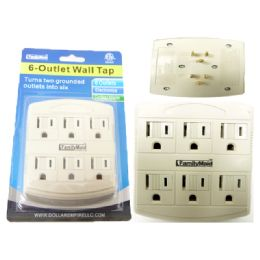 96 of 6 Plug Outlet Adapter