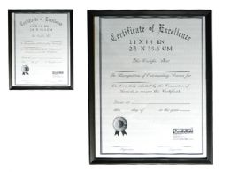 """24 Units of Certificate Frame 11x14"""" - Picture Frames"""