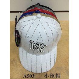 144 Units of Kids Ny Baseball Cap/ Hat - Kids Baseball Caps