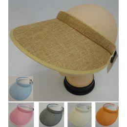 12 Units of Fashion LargE-Brimmed Sun Visor - Hunting Caps