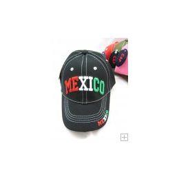 48 Units of Kids Snap On Mexico Cap - Kids Baseball Caps
