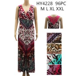 48 Units of Women's Fashion Romper Assorted Color Prints - Womens Rompers & Outfit Sets