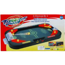 """18 Units of 14"""" 2in1 Tabletop Shooting Game In Color Box - Sports Toys"""