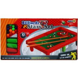 """24 Units of 10.5""""x7"""" Pool Table Play Set In Color Box - Sports Toys"""