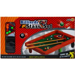 """36 Units of 8.5""""x12"""" Pool Table Play Set In Color Box - Sports Toys"""