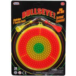 72 Units of 2 Dart Bullseye! Game Play Set In Blister Card - Darts & Archery Sets