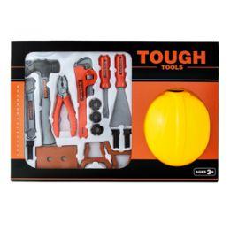 12 Units of Tough Tools Play Set - 16 Piece Set - Novelty Toys