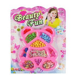 72 Units of Beauty Fun Bear Bead Kits - Craft Beads