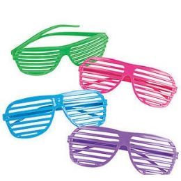 360 Units of Shutter Shade Glasses. - Novelty & Party Sunglasses