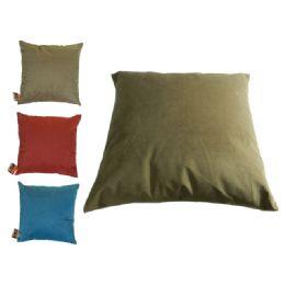 24 Units of Pillow Accent 43x43cm 3asst - Pillow Cases