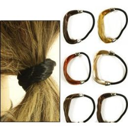 288 Units of Natural Color Pony Tail Holders - PonyTail Holders