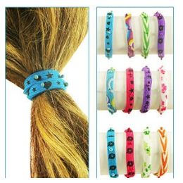 288 Units of 2-IN-1 Bead Pony Tail Holders /bracelets. - PonyTail Holders