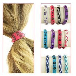 432 Units of 2-IN-1 Pony Tail Holders /bracelets - PonyTail Holders