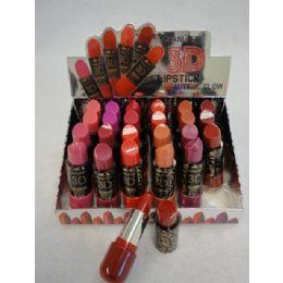 144 Units of 3d Beautiful Glow Lipstick - Lip Stick