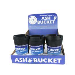 36 Units of Extinguishing Ashtray Ash Bucket Counter Top Display - Ashtrays