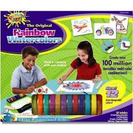 16 Units of Rainbow Watercolor Art Set - Art Paints