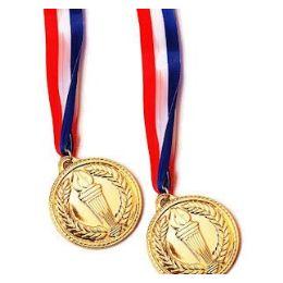 288 Units of Gold Medal Ribbon - Bows & Ribbons