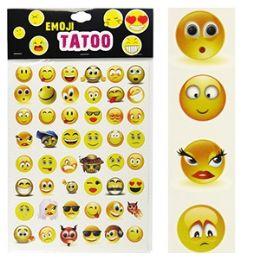 300 Units of Emoji Temporary Tattoo Sets - Tattoos and Stickers